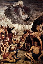 Jacopo Tintoretto - The Miracle of St Augustine - WGA22431.jpg
