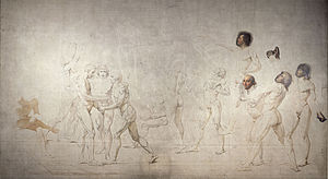 The Tennis Court Oath (David) - The Tennis Court Oath (Le Serment du Jeu de paume) by David.