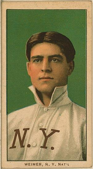 Jake Weimer - Jake Weimer baseball card