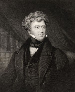 James Blundell (physician) - James Blundell c. 1820. Engraving by John Cochran.