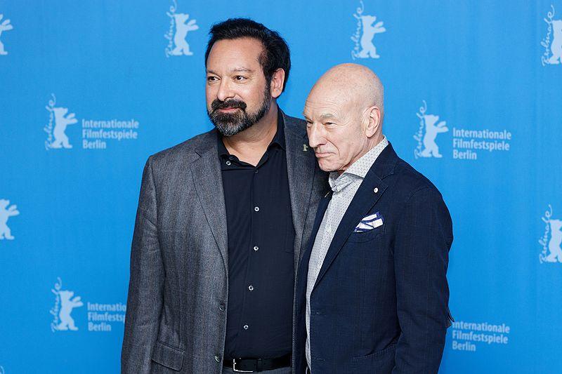 File:James Mangold and Patrick Stewart Photo Call Logan Berlinale 2017.jpg