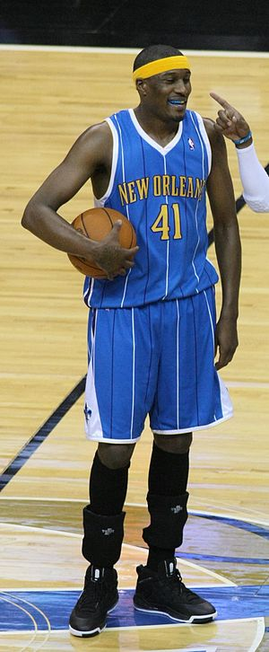James Posey - Posey with the New Orleans Hornets