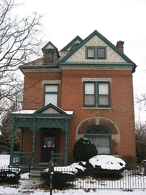 James Thurber - Thurber's house in Columbus, Ohio