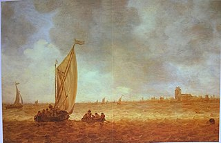River Landscape with View of Dordrecht