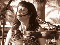 Janet Weiss of Wild Flag - Coachella 2012.jpg