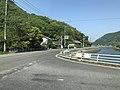 Japan National Route 317 from bus on Nakahamabashi Bridge.jpg