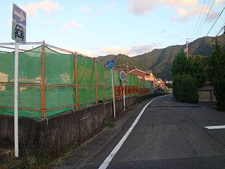 Japan National Route 425 road in Japan