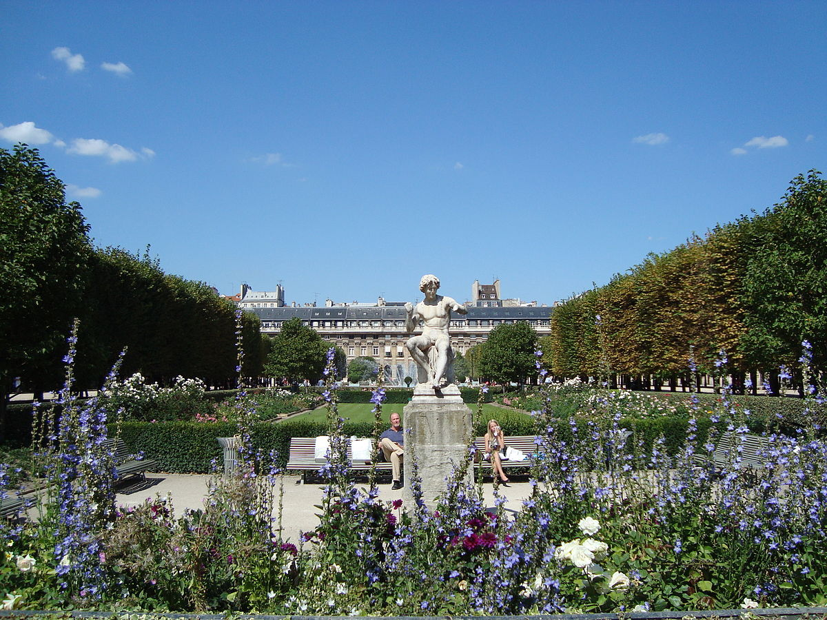 Jardin du palais royal wikip dia for Jardin royal