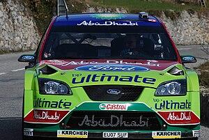 Jari-Matti Latvala - Latvala at the 2008 Monte Carlo Rally.