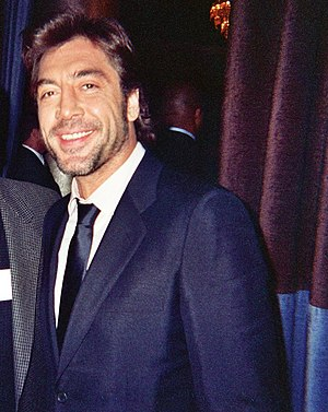 Actor Javier Bardem.
