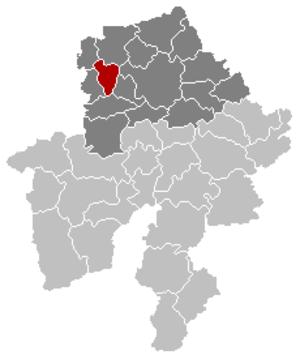 Jemeppe-sur-Sambre - Image: Jemeppe sur Sambre Namur Belgium Map
