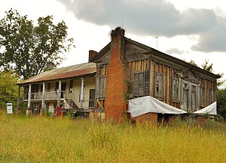 Eastaboga, Alabama - The Jemison House Complex is located in Eastaboga, Alabama. It was built c. 1840 and placed on the National Register of Historic Places on October 1, 1990