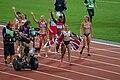 Jessica Ennis celebrates heptathlon win - 2012 Olympics.jpg