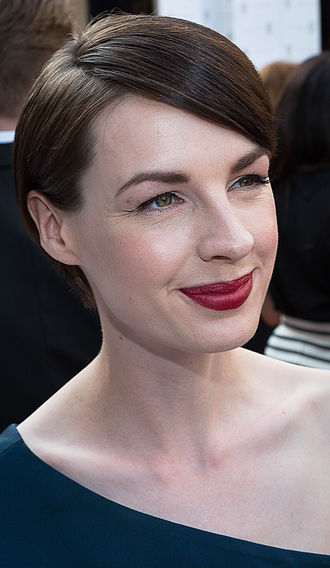 The Devil of Christmas - Jessica Raine (pictured, 2015) starred in the episode as Kathy.