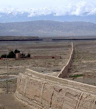 Jiayu Pass - The Great Wall near Jiayuguan