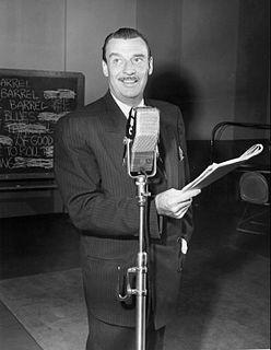 Jimmy Wallington American radio announcer