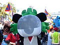 Jingjing at 2008 Olympic Torch Relay in SF 3.JPG