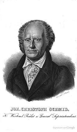 Johann Christoph von Schmid