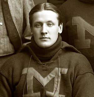 1896 Michigan Wolverines football team - Right guard John Bennett