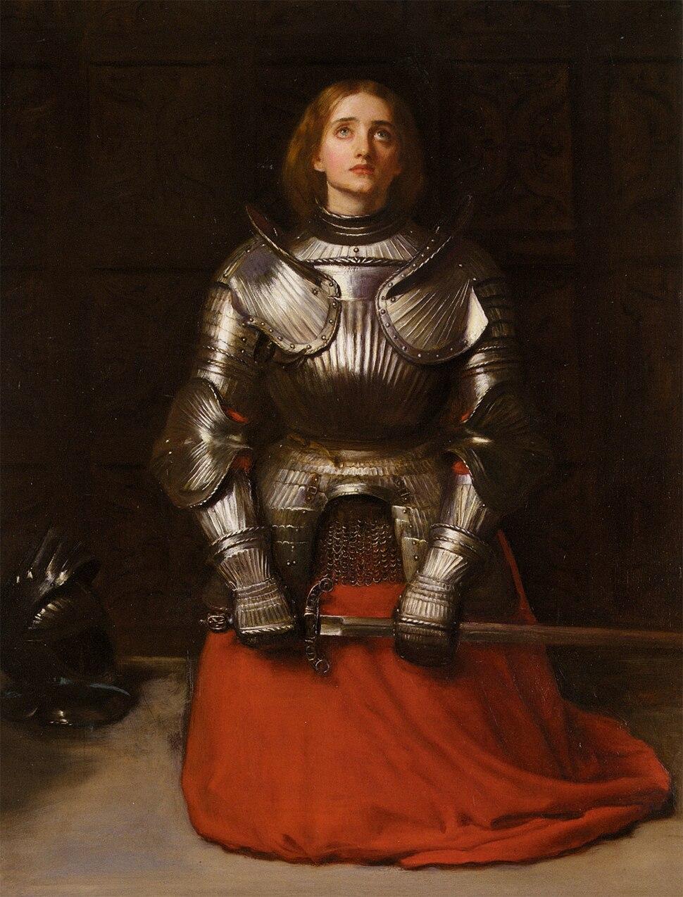John Everett Millais - Joan of Arc