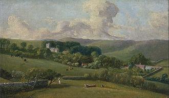 John Fisher (bishop of Salisbury) - Painting of Osmington by John Fisher