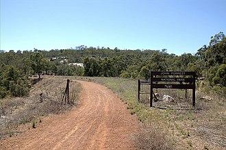 John Forrest National Park - National Park western entrance