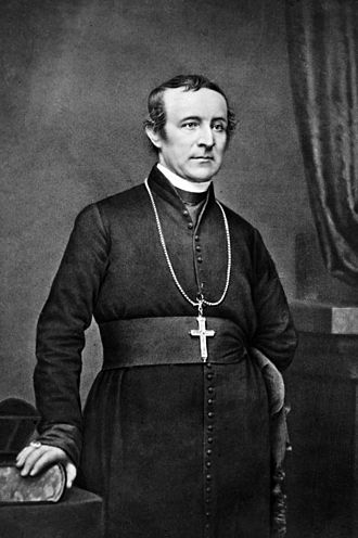 John Hughes (archbishop of New York) - Photo by Mathew Brady, ca. 1860-1863