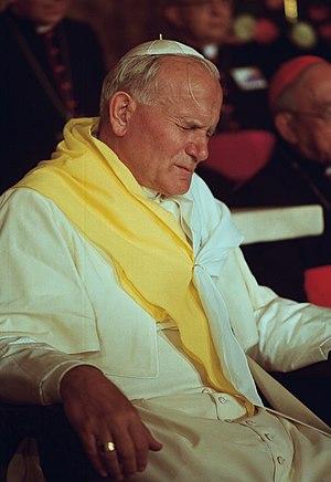 John Paul II in Cali, Colombia.
