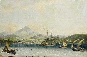 John Thomas Serres - The entrance to the port of San Sebastian.jpg