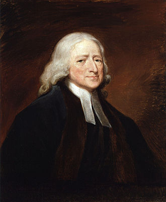 John Wesley - Portrait by George Romney (1789), National Portrait Gallery, London