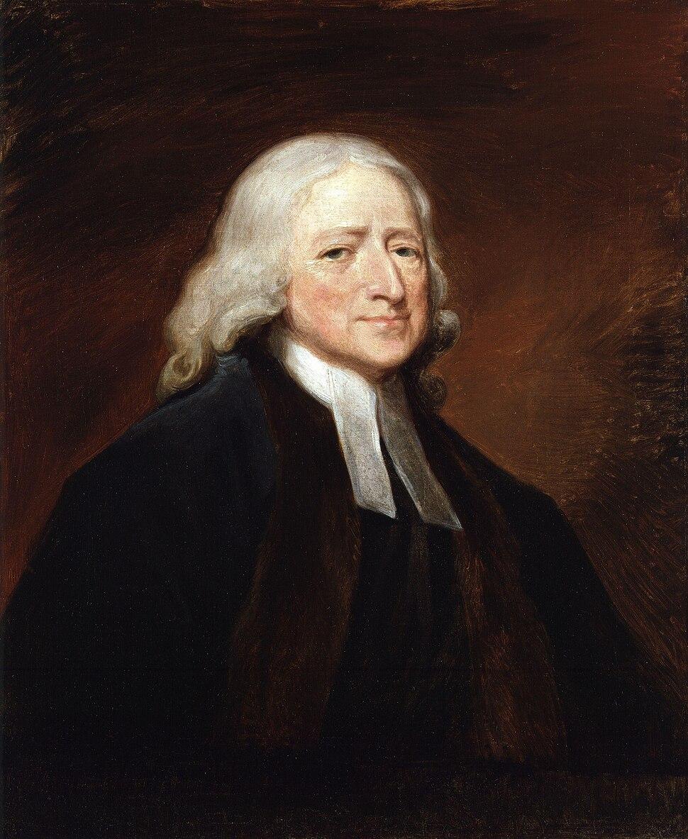 John Wesley by George Romney