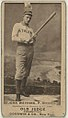 John Weyhing, Philadelphia Athletics, baseball card portrait LCCN2008675124.jpg