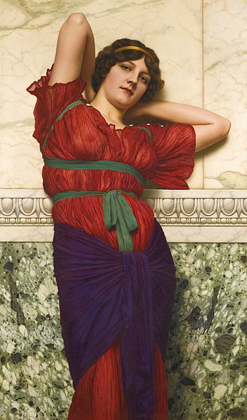 File:John William Godward - Contemplation.jpg
