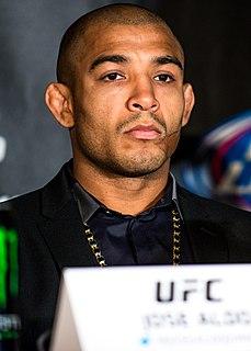 José Aldo Brazilian mixed martial arts fighter