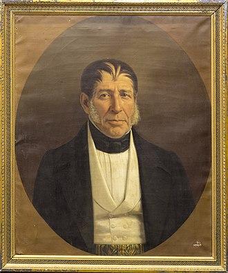 José Joaquín de Herrera - Portrait of José Joaquín de Herrera