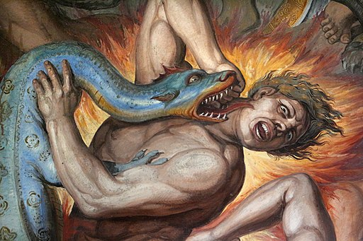 Joseph Anton Koch, inferno, 1825-28, 11