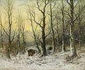Joseph Heydendahl Wildschweine in Winterlandschaft.jpg