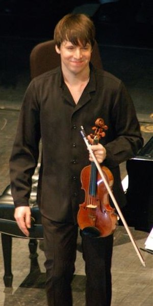 Gibson Stradivarius - Joshua Bell with the Gibson Stradivarius in 2008