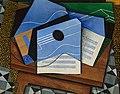 Juan Gris - Guitar on a table - Google Art Project.jpg