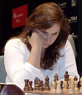 Judit Polgár Hungarian chess player