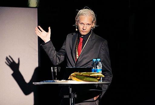 Julian Assange 20091117 Copenhagen 2