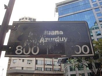 Julio Roca versus Juana Azurduy - Buenos Aires