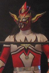 Jushin Thunder Liger in a wrestling ring