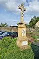 Kříž na konci obce u cesty na Pamětice, Knínice u Boskovic, okres Blansko.jpg