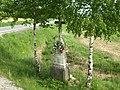 Kříž u křižovatky jihovýchodně od Rousměrova (Q94438185).jpg