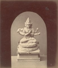 KITLV 87613 - Isidore van Kinsbergen - Hindu-Javanese sculpture at Telaga in Kuningan - Before 1900.tif