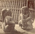 KITLV 87758 - Isidore van Kinsbergen - Hindu-Javanese sculptures at Gaprang in Kediri - Before 1900.tif