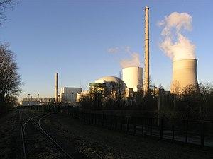 Philippsburg Nuclear Power Plant - Image: KKP Gleis