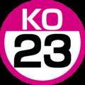 KO-23 station number.png