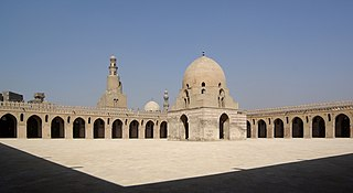 Mosque of Ibn Tulun mosque in Egypt